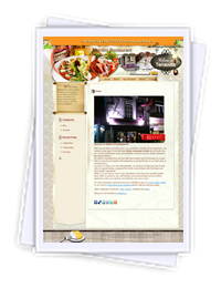 Cardinirestaurant website
