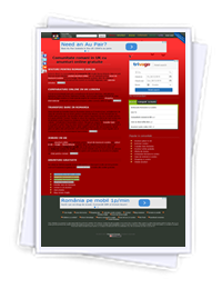 E-romania in UK website